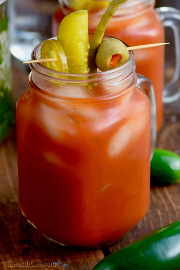 These Jalapeño Bloody Marys have the delicious smoky flavor of jalapeños in vodka makes this bloody mary recipe a must make for any brunch!