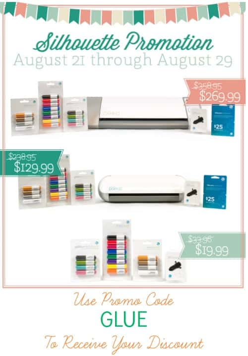 Sketch Pen Silhouette Promotion | August 21st to August 29th