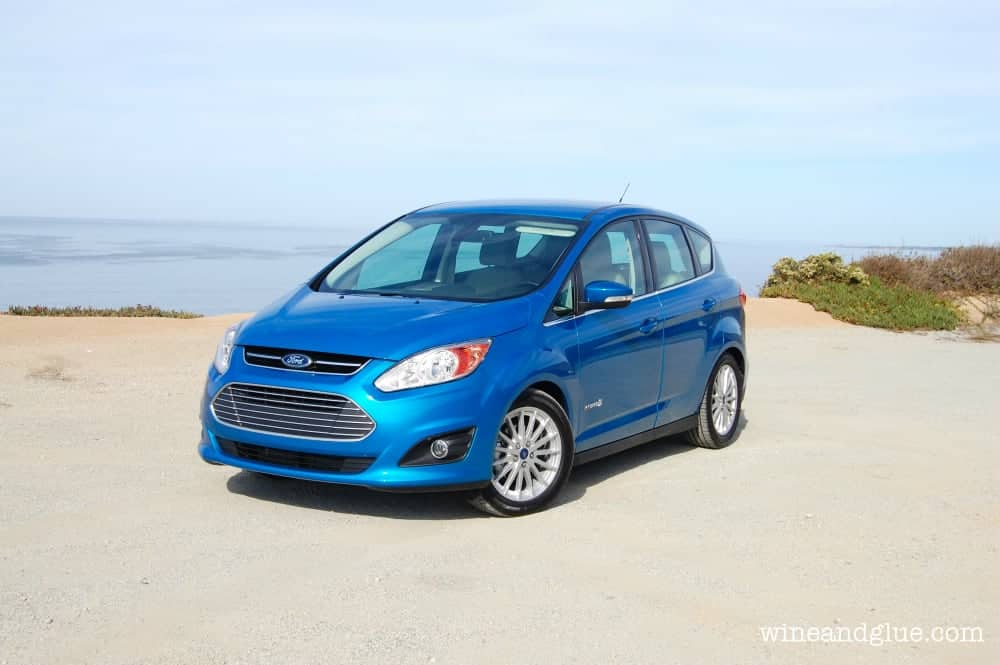 Looking to buy a new car?  Check out all the amazing features of the Ford C-Max Hybrid! via www.wineandglue.com