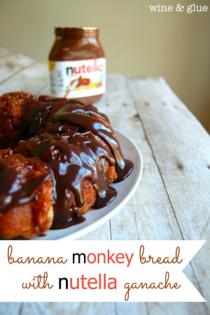 banana_monkey_bread_nutella_topping