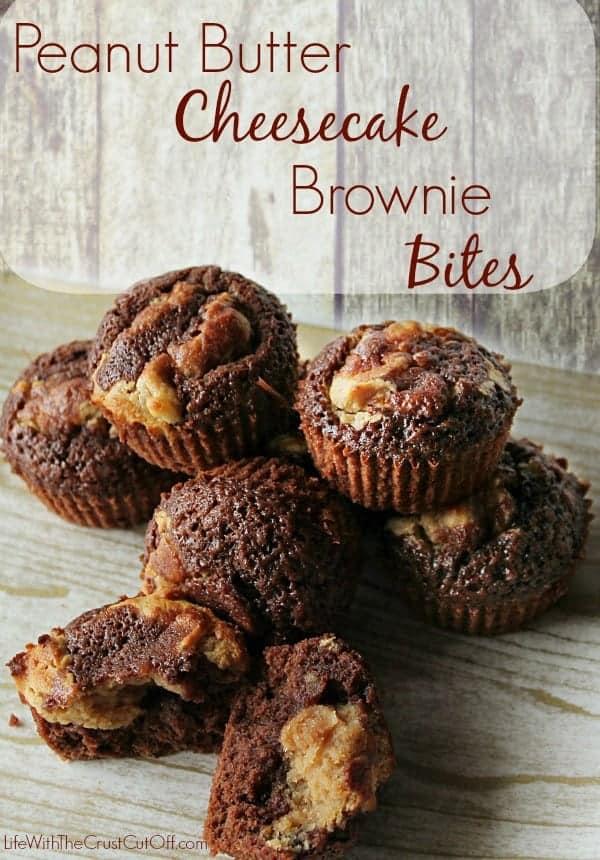 Peanut-Butter-Cheesecake-Brownie-Bites