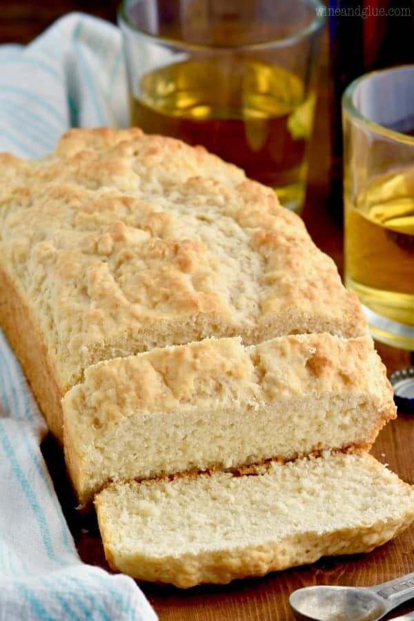 Three Ingredient Beer Bread Recipe | Wine and Glue