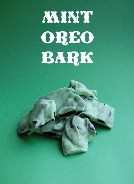 Min Oreo Bark