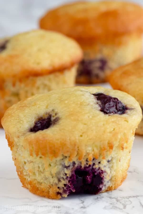 Delicious and moist muffins that combine the flavors of cherry and banana