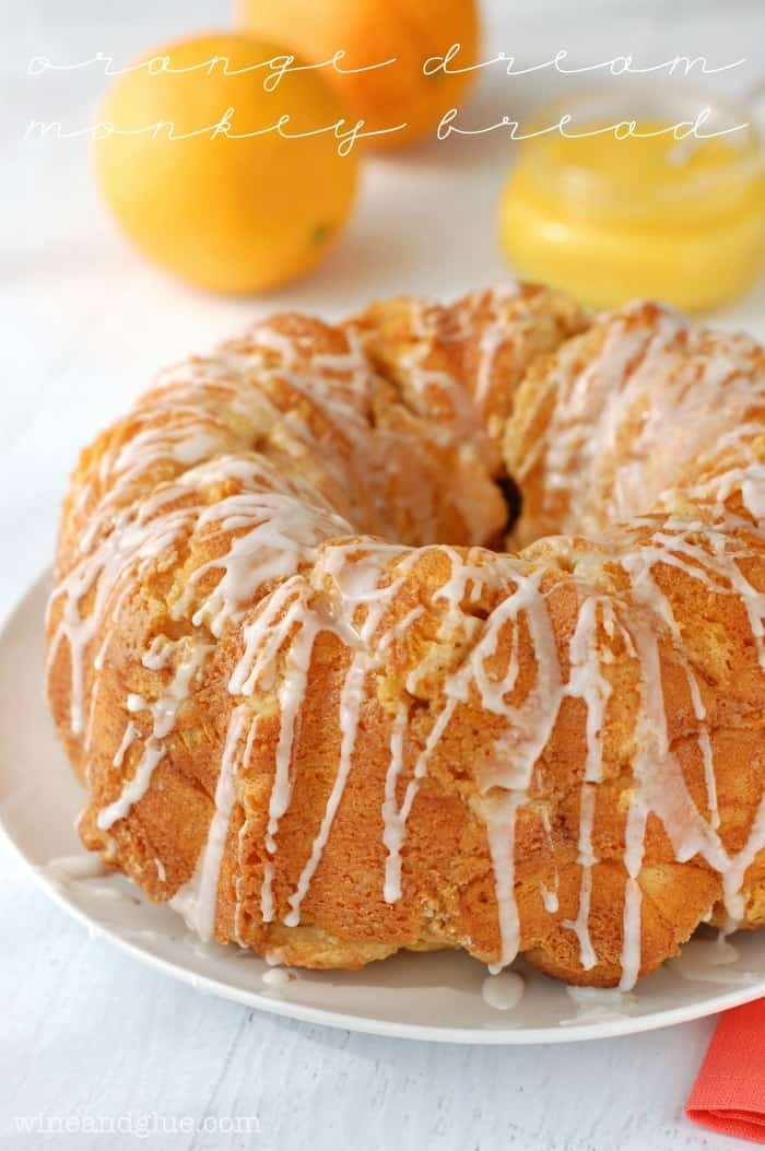 Orange Dream Monkey Bread