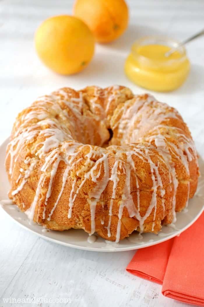 his Orange Dream Monkey Bread taste like an orange dreamsicle in monkey bread form!