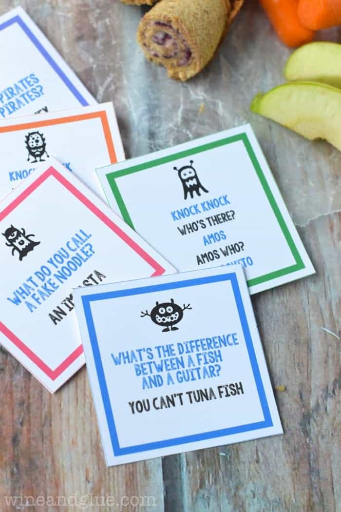 Free Printable Lunch Box Jokes