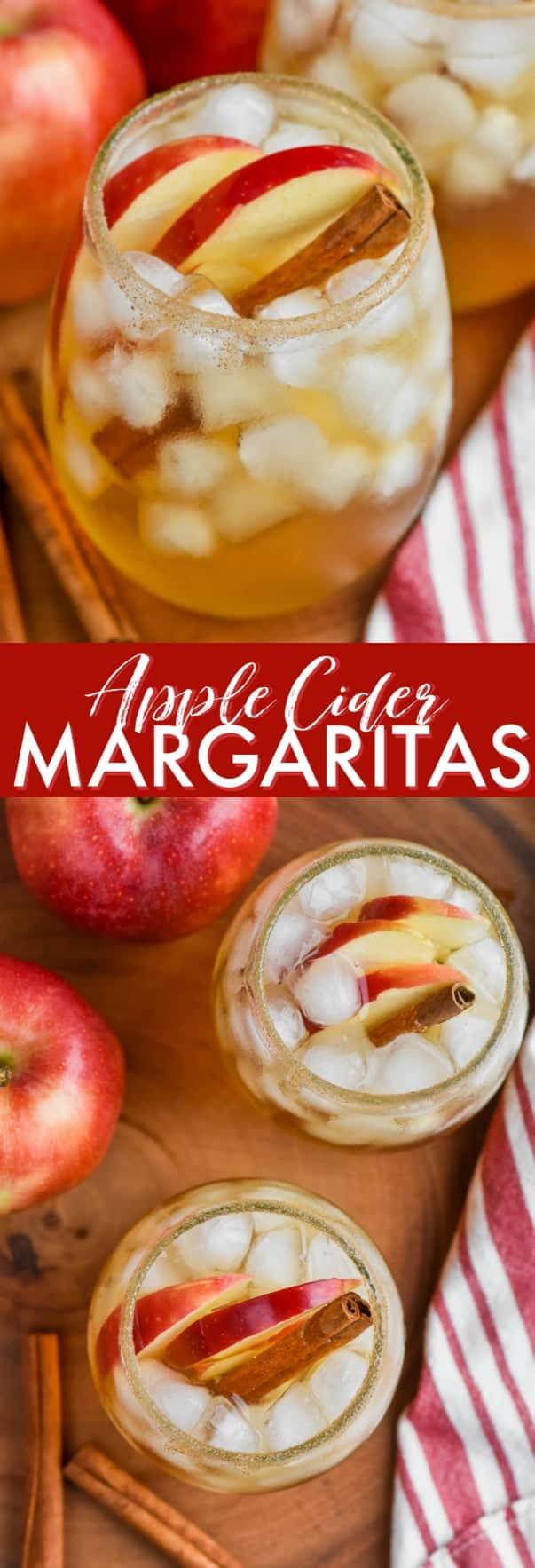 the best apple cider margarita