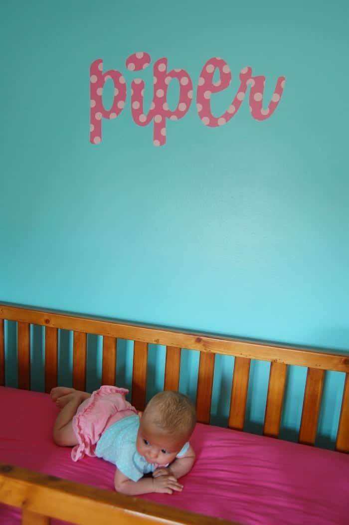 Nursery Makeover | www.wineandglue.com