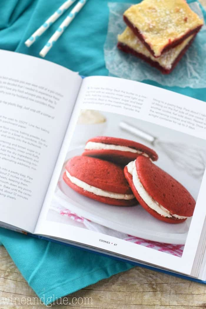 Red Velvet Lover's Cookbook by Deborah Harroun is a dream come true for those in love with red velvet!