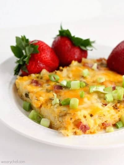 Breakfast for Dinner Casserole