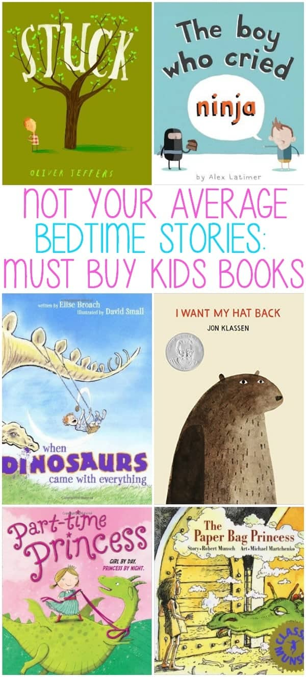 Not Your Average Bedtime Stories:  Must Buy Children's Books  A list of books that you will want to read to your kids over and over, great for kids, but also entertaining for adults!