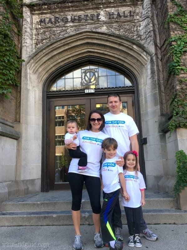 Family ready to participate in Al's Run