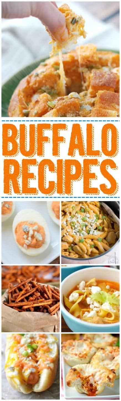 More than 40 Buffalo Recipes that you must make for football season!