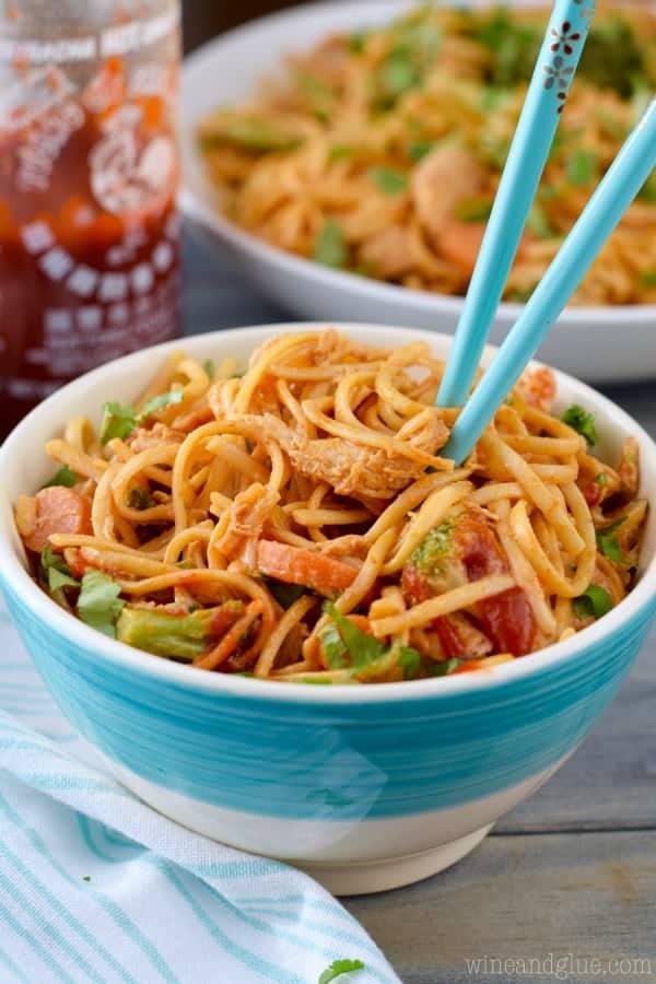 Sriracha Noodle Bowls