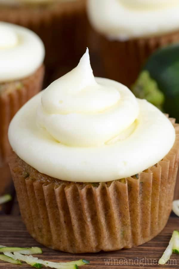 These Zucchini Cupcakes are amazingly delicious and moist! A whole batch will get DEVOURED before you know it!