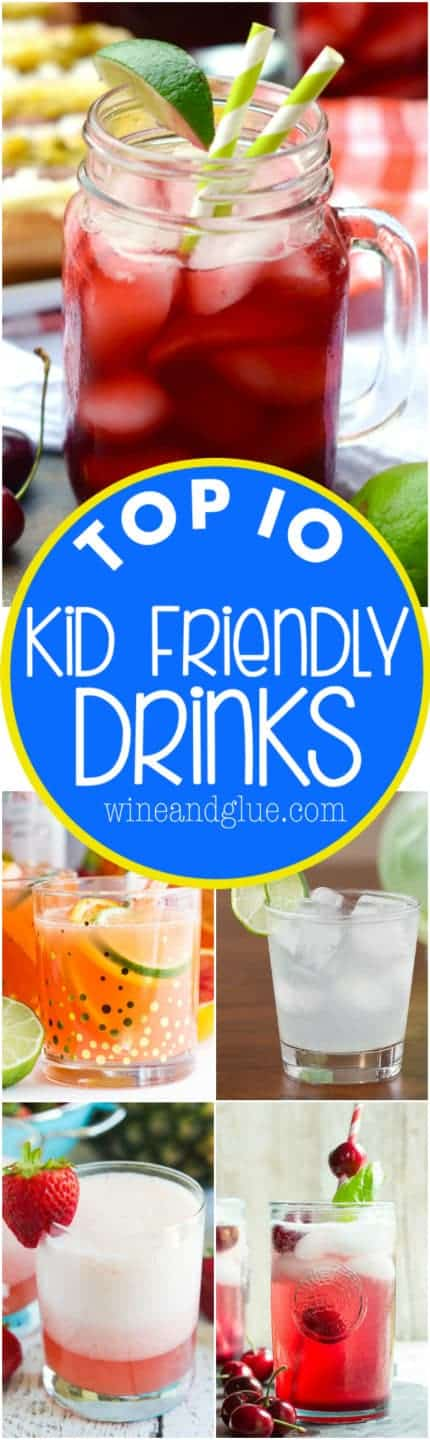 These Top 10 Kid Friendly Drink Recipes are so perfect for summer!