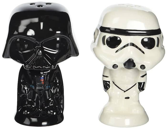 Vader and Stormtrooper Salt N' Pepper Shakers