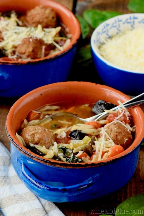 Vegetable and Meatball Soup Recipe