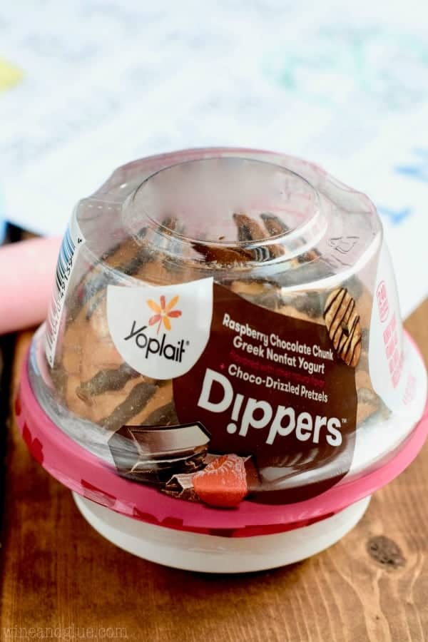 These Yoplait Dippers make such a great easy snack!