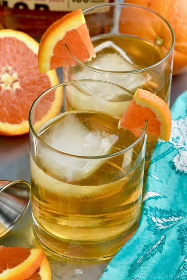 This Desert Wasteland Whiskey Cocktail is the perfect flavors of orange and whisky! So delicious, you'll want to make it all the time!