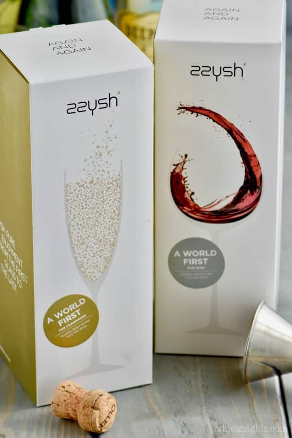 A box of Champagne and Wine from zzysh