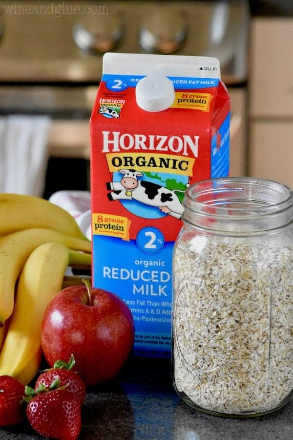 With just a few ingredients you can make a great overnight oats!