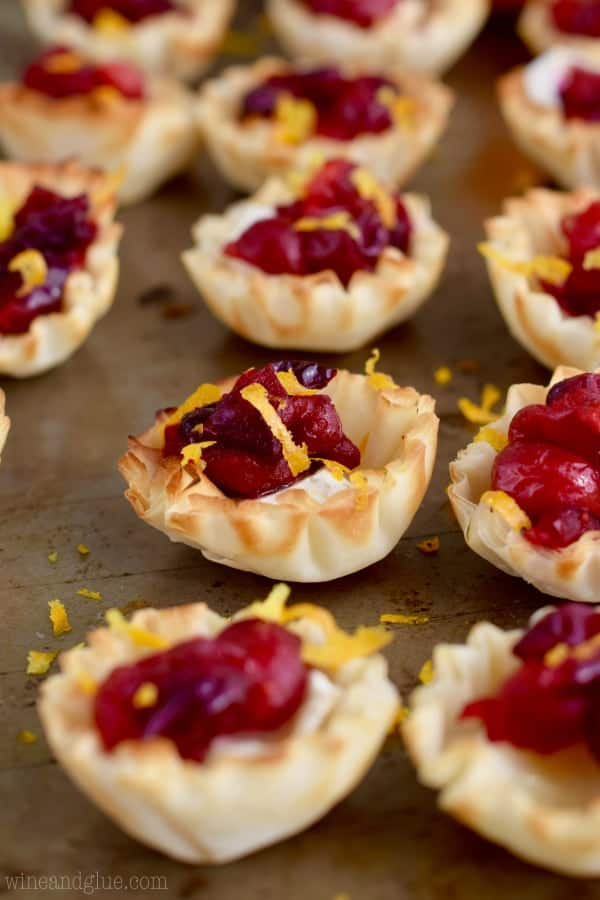 These Cranberry Brie Bites are as delicious as they are pretty!