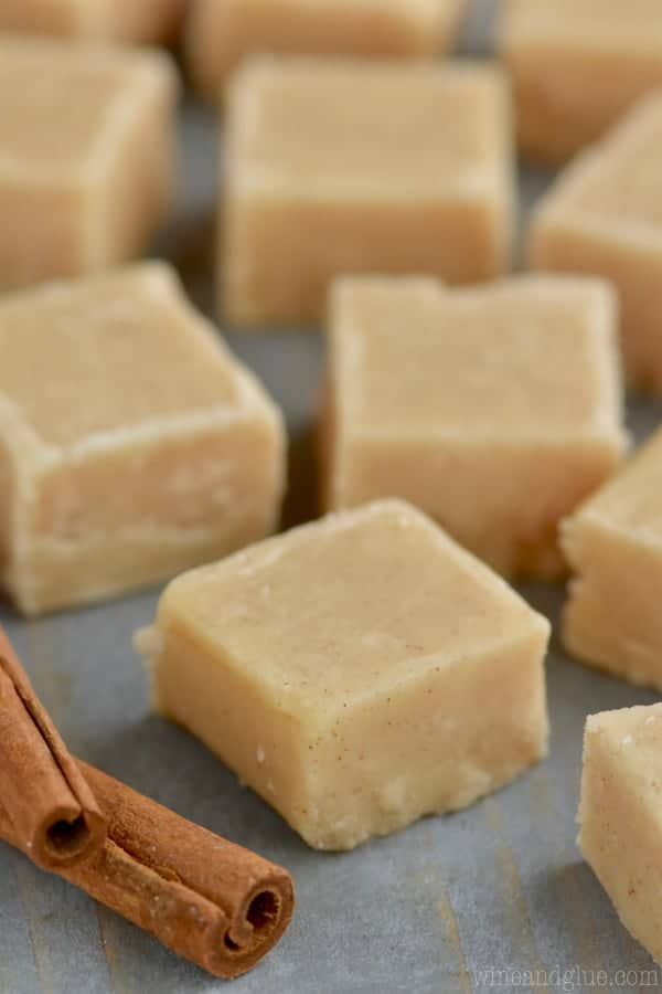 This Eggnog Fudge is perfect for the holidays!