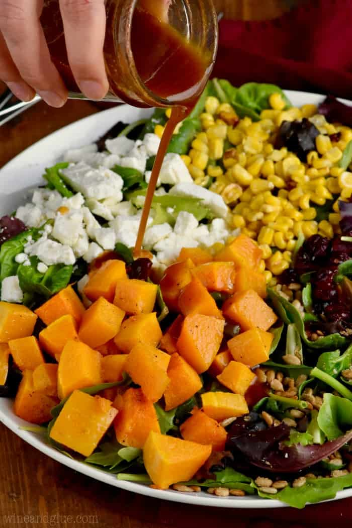 You can't beat this fall salad! It's like a harvest on a plate.