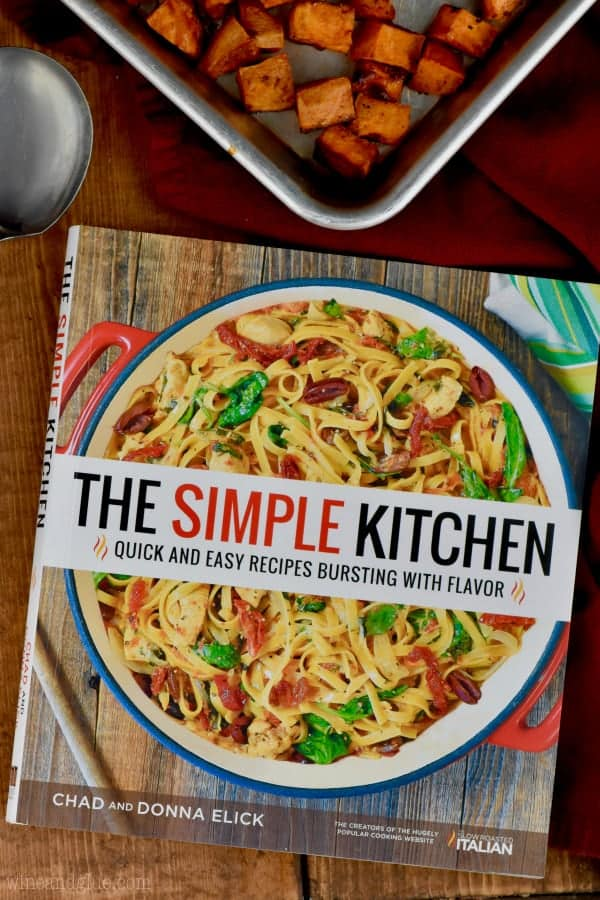 overhead view of the simple kitchen cookbook