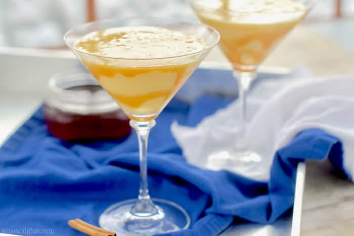 This Eggnog Martini is so tasty and perfect for your holiday party!