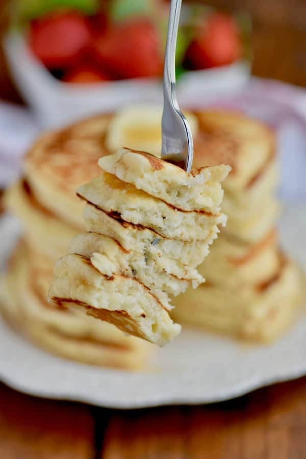 You are going to love these fluffy buttermilk pancakes!