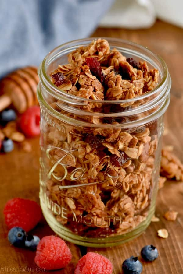 This homemade granola recipe is going to be your new favorite breakfast!