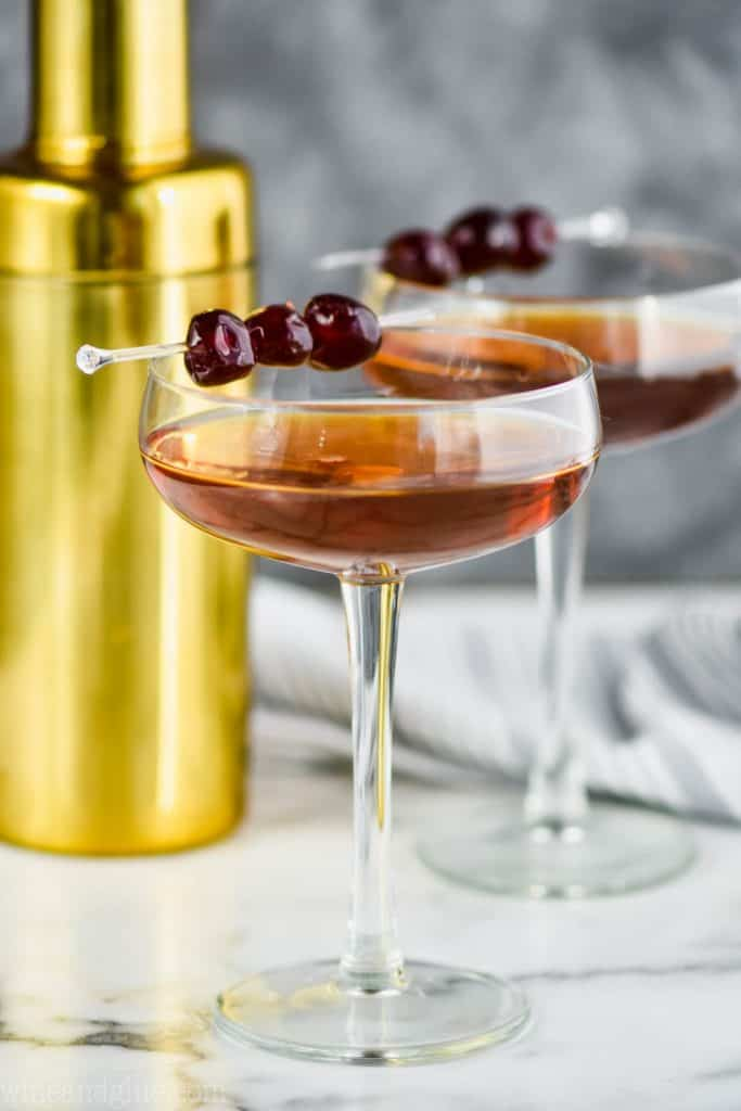 Manhattan Drink Recipe Simple Joy