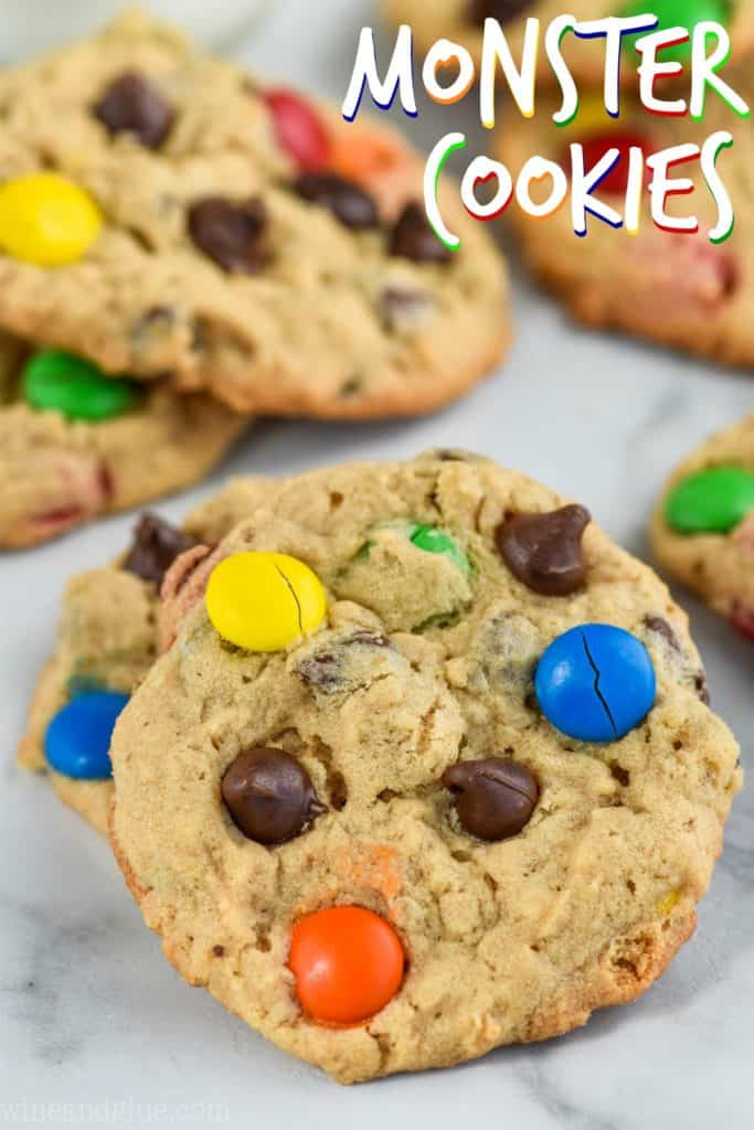 picture of the best monster cookie recipe