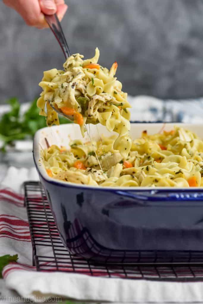 spoonful of chicken noodle casserole recipe
