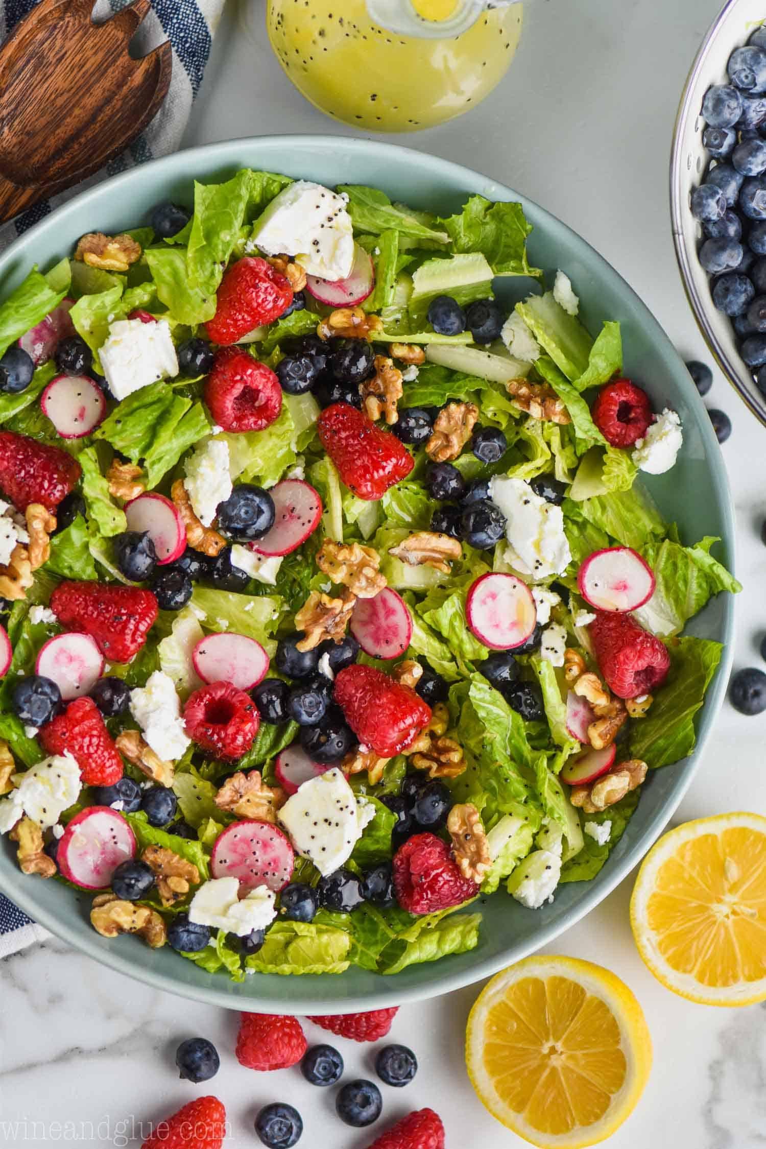 Summer Salad Recipe Wine Glue