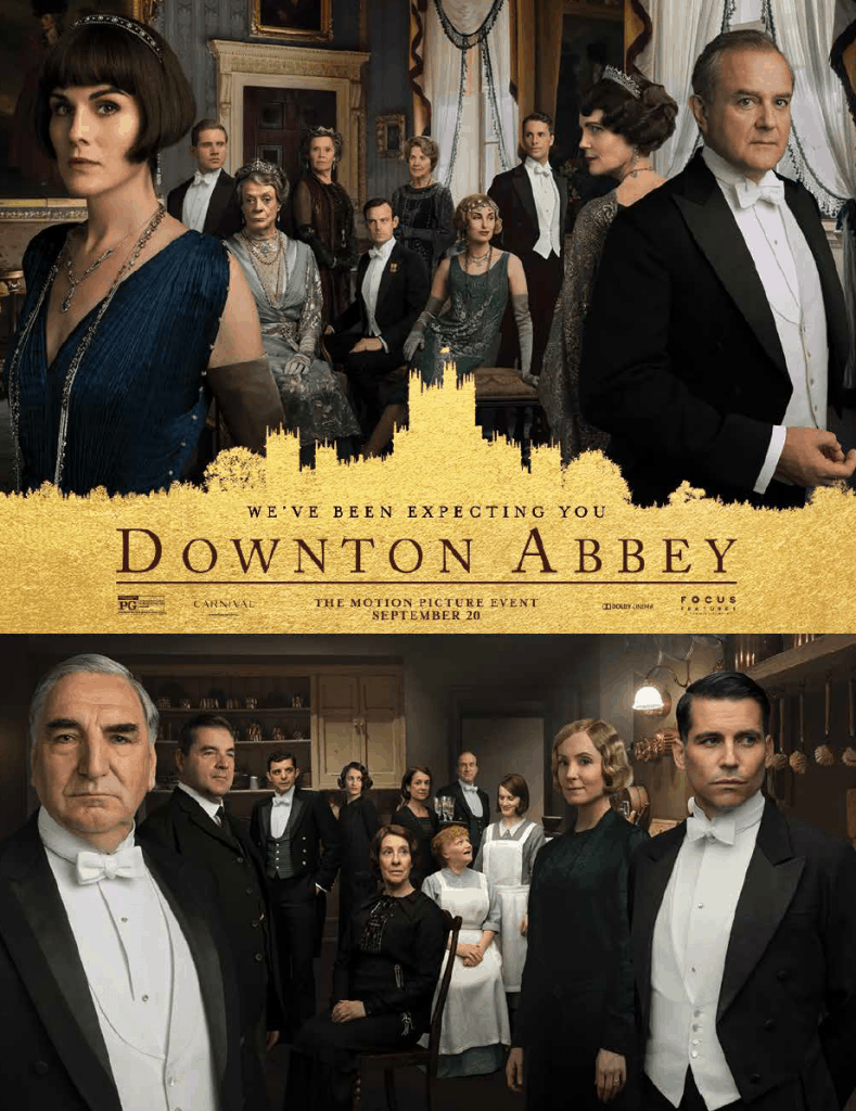 Trailer poster of the movie called Downton Abbey