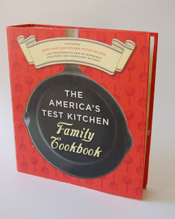 A cookbook called The America's Test Kitchen Family Cookbook