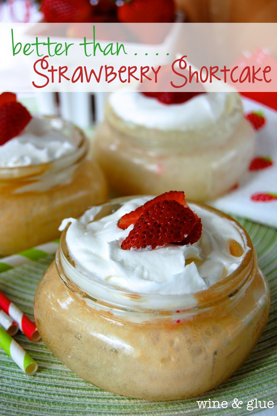 Mason Jar Poke Cake Better Than Strawberry Shortcake Simple Joy